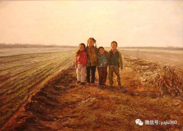 李庆油画人物作品欣赏插图43