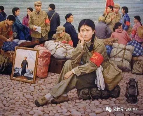 油画世界:文革题材油画插图7