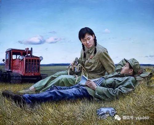 油画世界:文革题材油画插图11