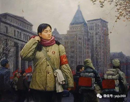 油画世界:文革题材油画插图25