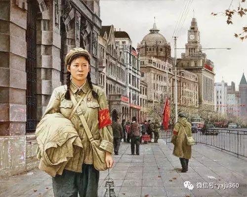 油画世界:文革题材油画插图27