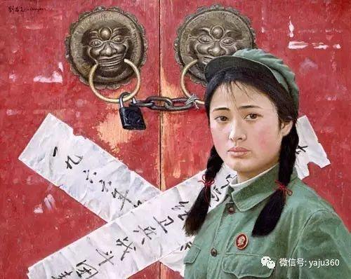 油画世界:文革题材油画插图39