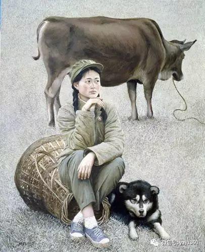 油画世界:文革题材油画插图41