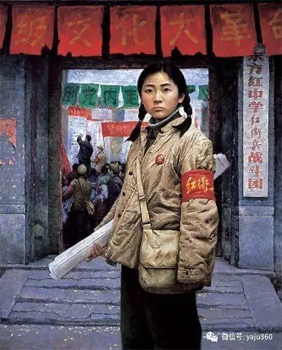 油画世界:文革题材油画插图47