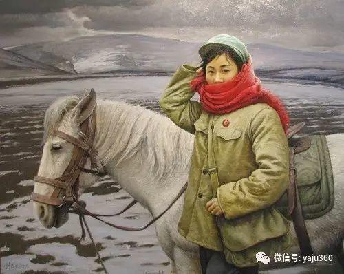 油画世界:文革题材油画插图49