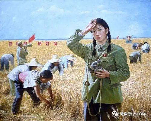 油画世界:文革题材油画插图75
