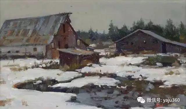 美国Delbert Gish静物风景画赏析插图49