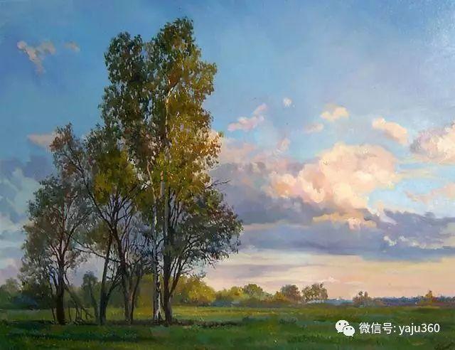 油画世界:俄罗斯巴诺夫风景油画插图5