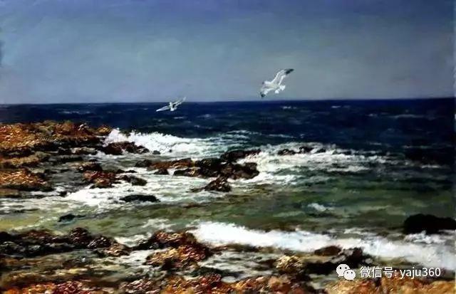 油画世界:俄罗斯巴诺夫风景油画插图23