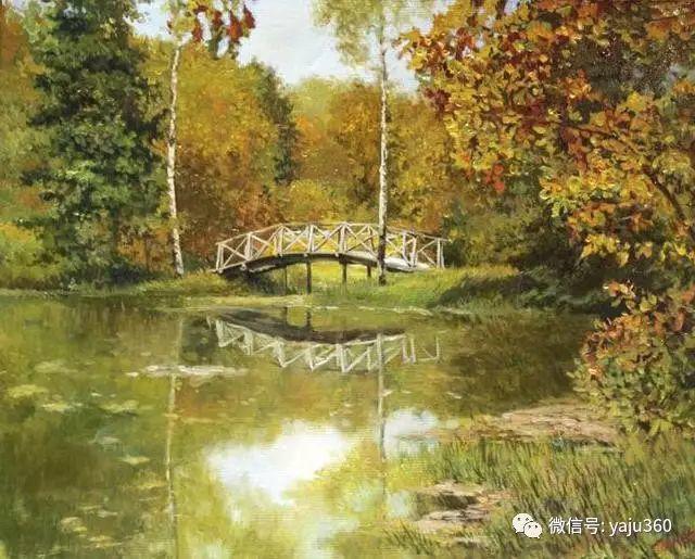 油画世界:俄罗斯巴诺夫风景油画插图31