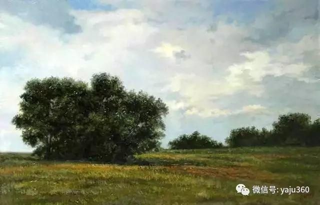 油画世界:俄罗斯巴诺夫风景油画插图33