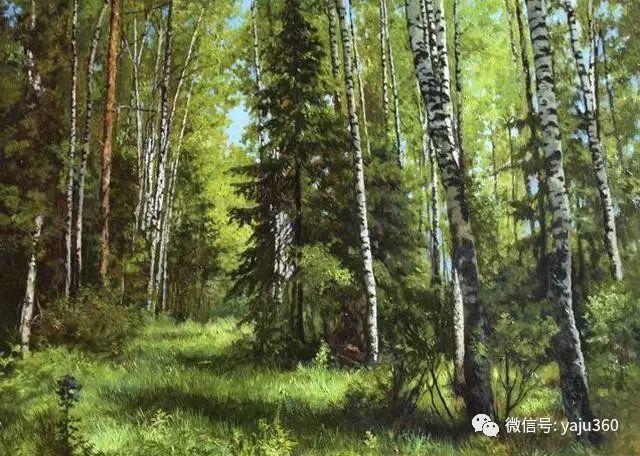 油画世界:俄罗斯巴诺夫风景油画插图39
