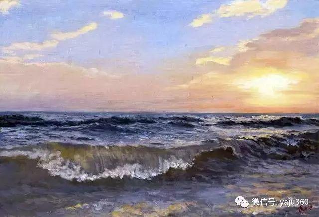 油画世界:俄罗斯巴诺夫风景油画插图49