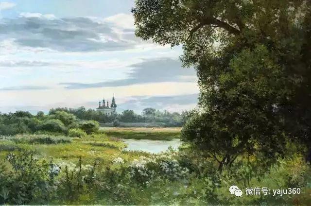 油画世界:俄罗斯巴诺夫风景油画插图51