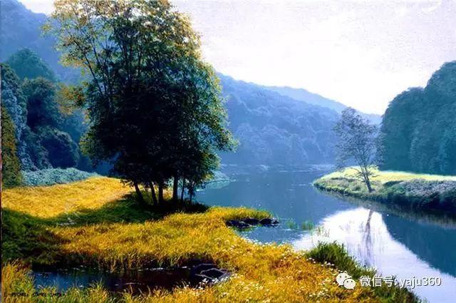 英国Michael James Smith风景油画作品插图4