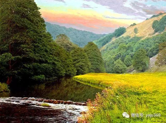 英国Michael James Smith风景油画作品插图8