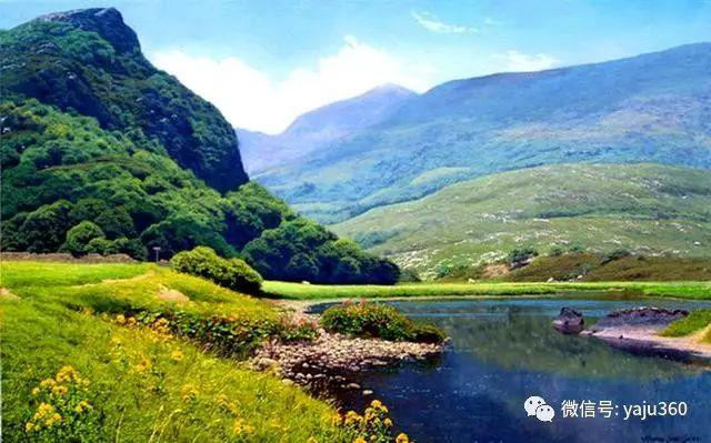 英国Michael James Smith风景油画作品插图9