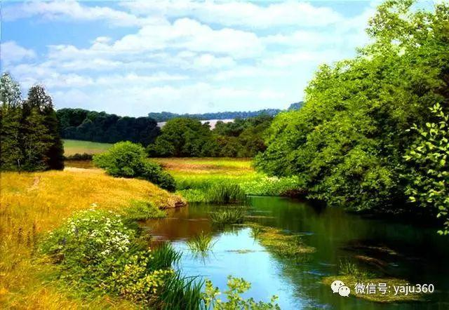 英国Michael James Smith风景油画作品插图11