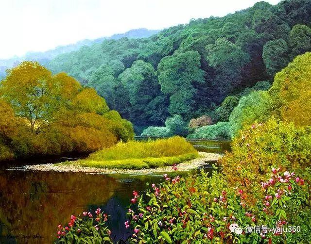 英国Michael James Smith风景油画作品插图15