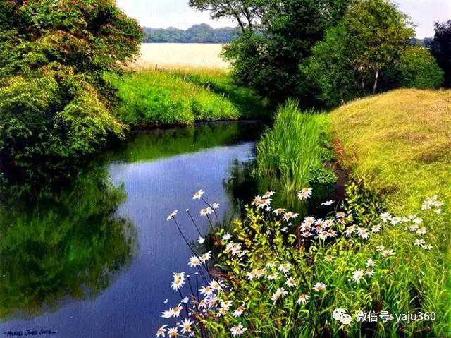 英国Michael James Smith风景油画作品插图16