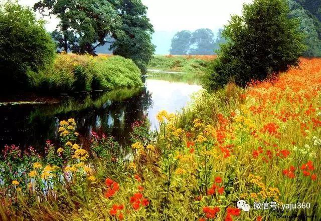 英国Michael James Smith风景油画作品插图17