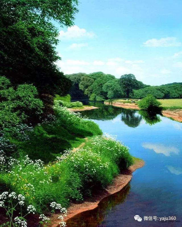 英国Michael James Smith风景油画作品插图19