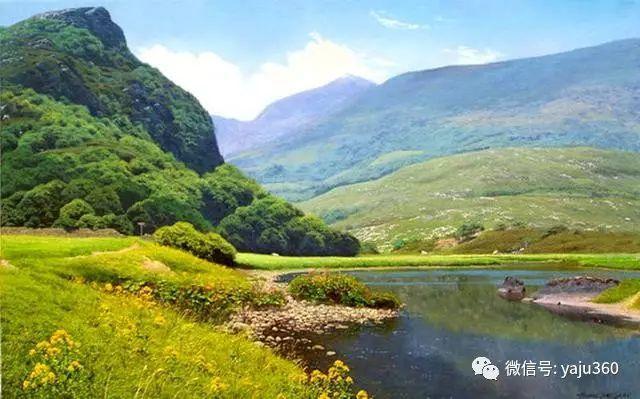 英国Michael James Smith风景油画作品插图23