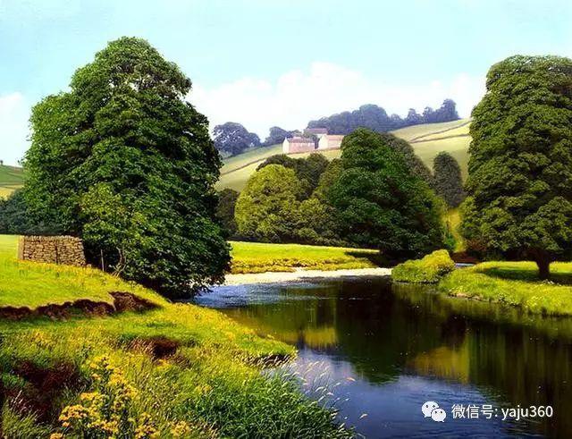 英国Michael James Smith风景油画作品插图25