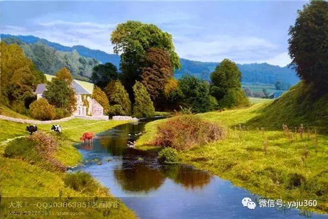 英国Michael James Smith风景油画作品插图26