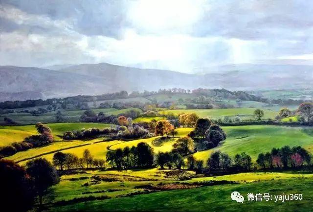 英国Michael James Smith风景油画作品插图28