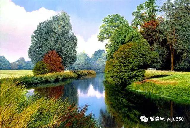 英国Michael James Smith风景油画作品插图33