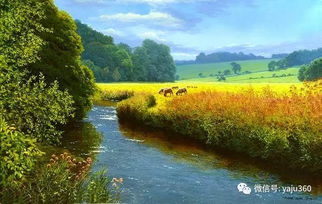 英国Michael James Smith风景油画作品插图36