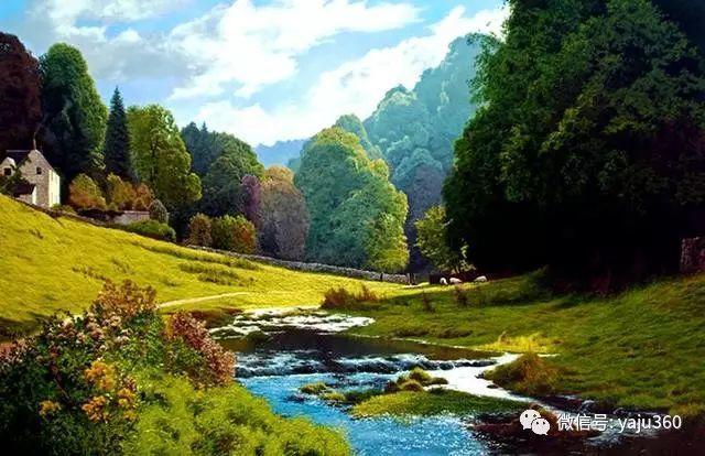 英国Michael James Smith风景油画作品插图37