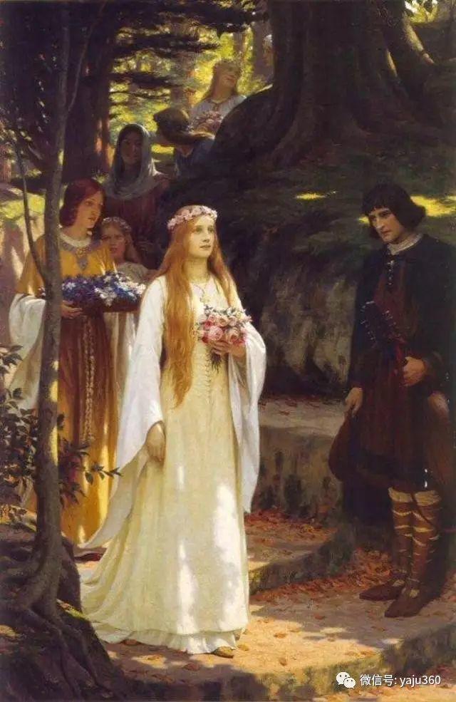 油画世界:英国画家埃德蒙油画欣赏插图3