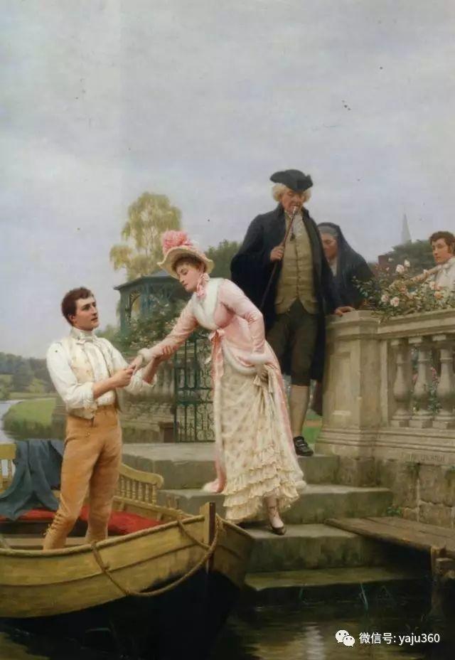 油画世界:英国画家埃德蒙油画欣赏插图5