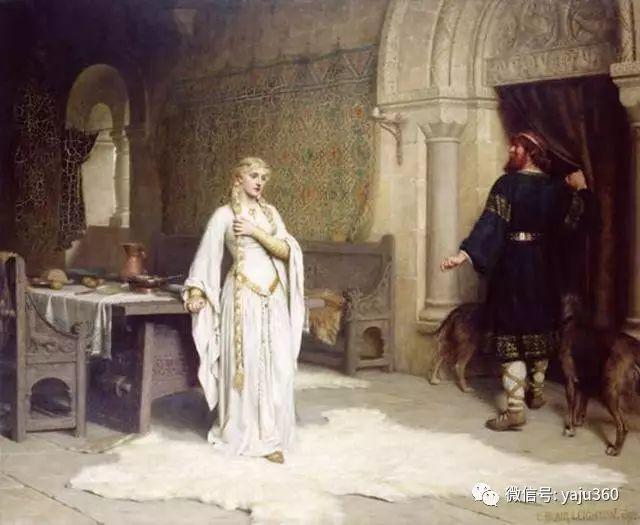 油画世界:英国画家埃德蒙油画欣赏插图10