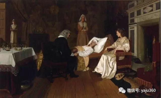 油画世界:英国画家埃德蒙油画欣赏插图23