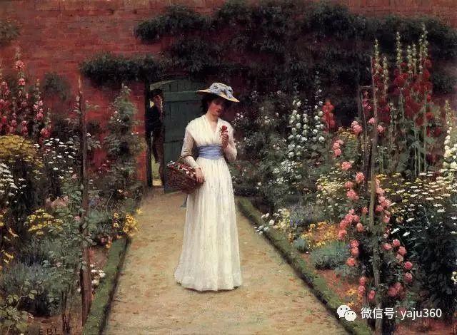 油画世界:英国画家埃德蒙油画欣赏插图24