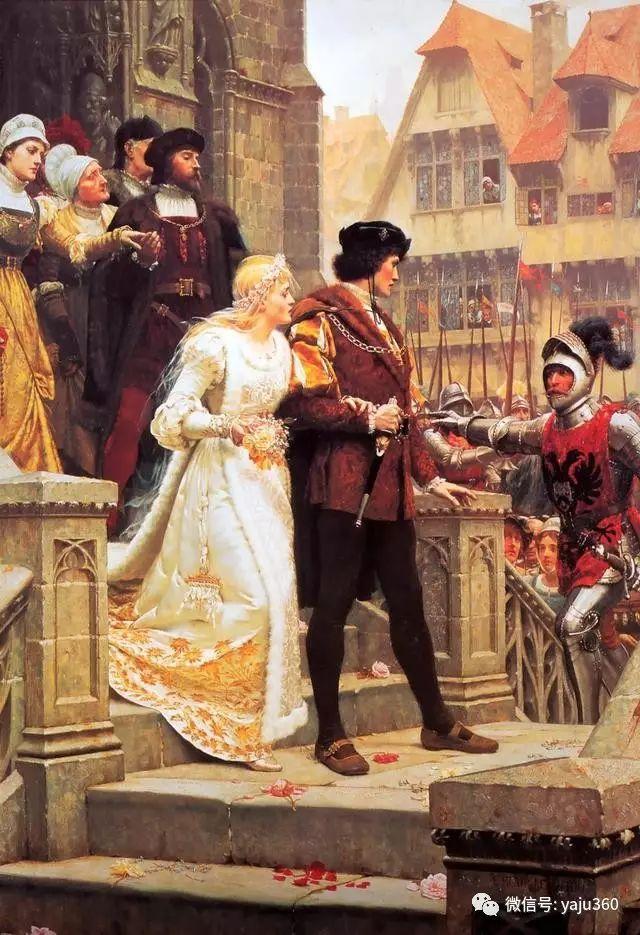 油画世界:英国画家埃德蒙油画欣赏插图25