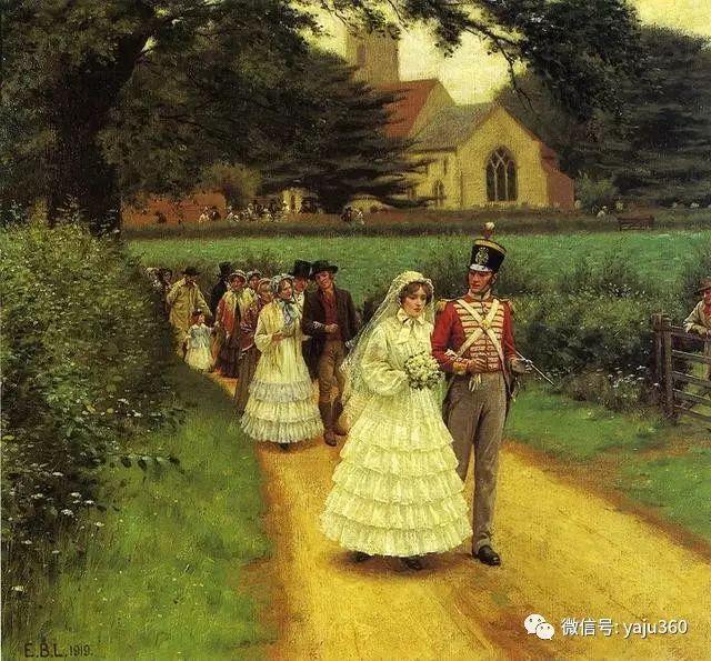 油画世界:英国画家埃德蒙油画欣赏插图28