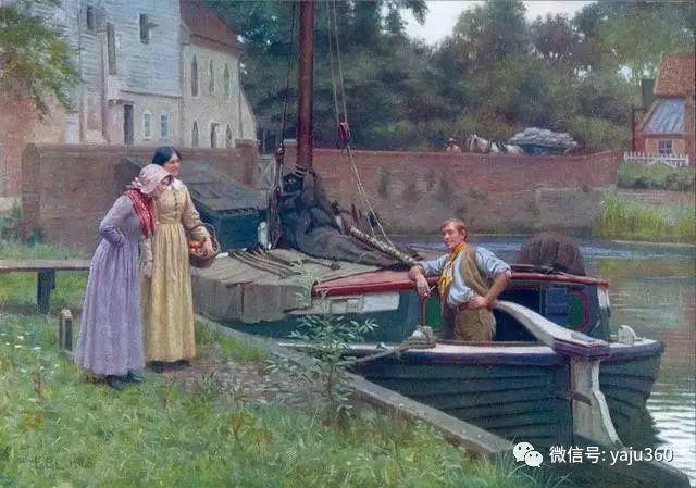 油画世界:英国画家埃德蒙油画欣赏插图29