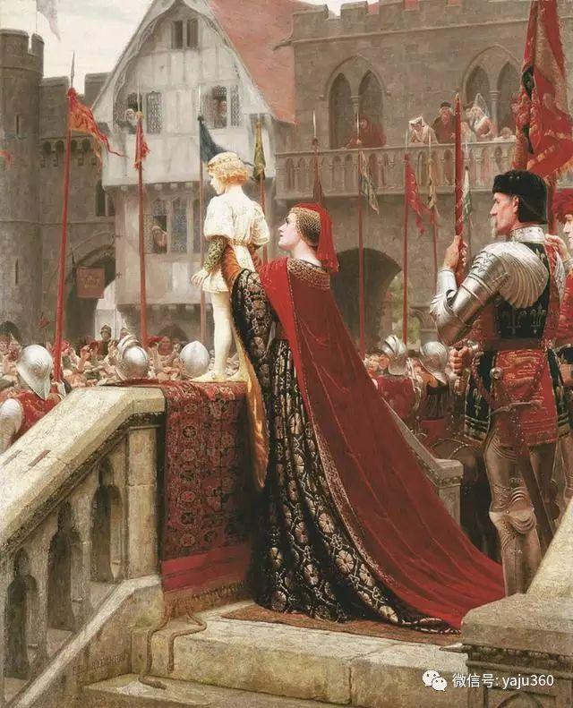 油画世界:英国画家埃德蒙油画欣赏插图36