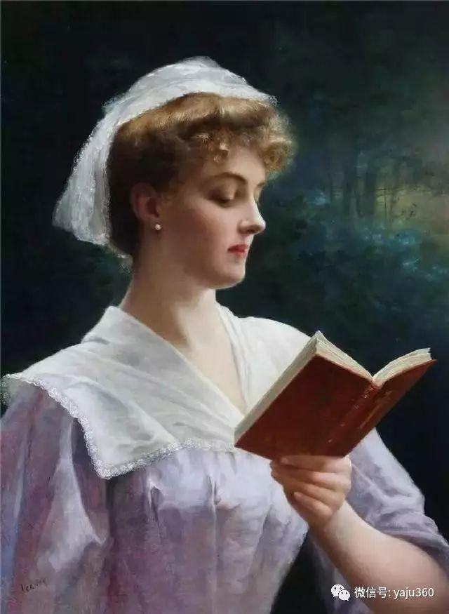 法国学院派画家Emile Vernon女性人物油画插图69