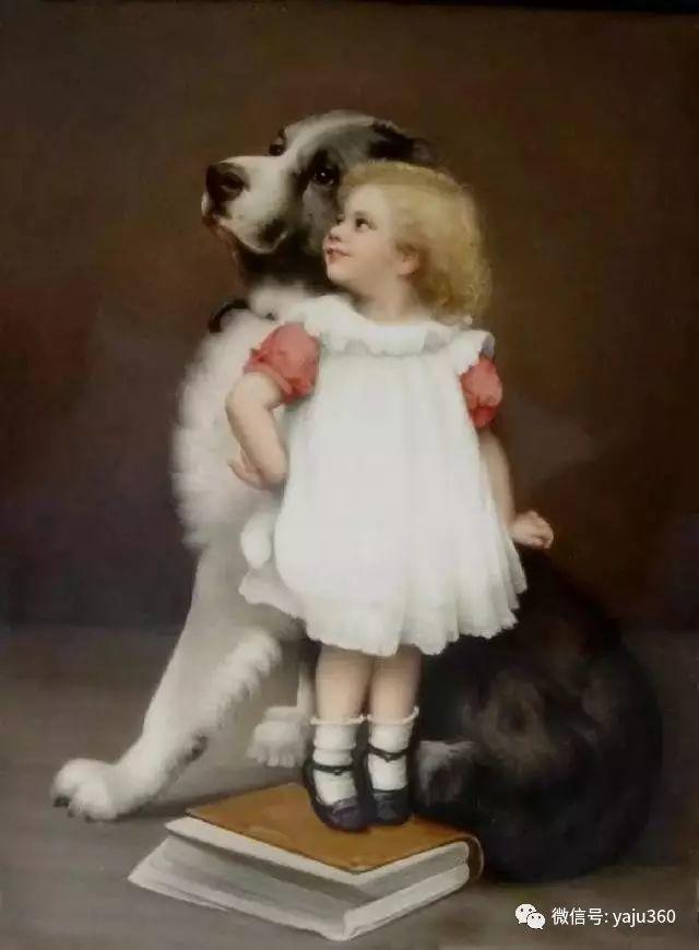 法国学院派画家Emile Vernon女性人物油画插图77