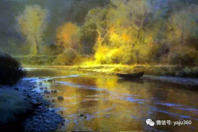 美国Brent Cotton风景油画作品插图2