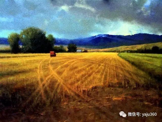 美国Brent Cotton风景油画作品插图3