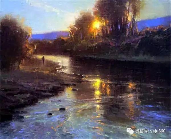美国Brent Cotton风景油画作品插图10