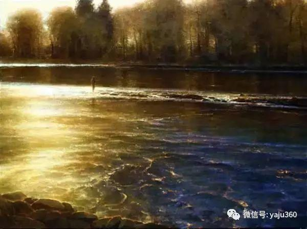 美国Brent Cotton风景油画作品插图18