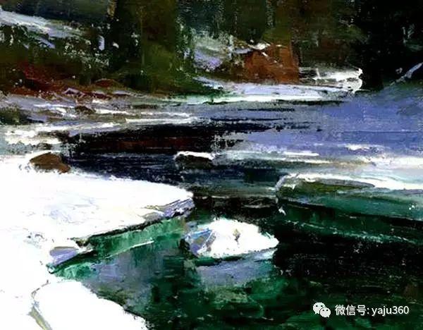 美国Brent Cotton风景油画作品插图19