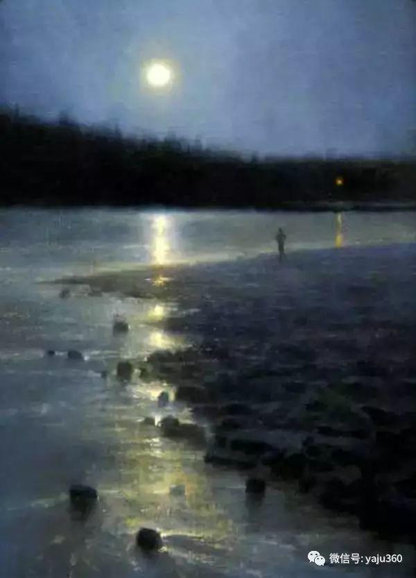 美国Brent Cotton风景油画作品插图20
